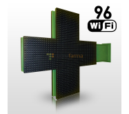 LED cross 96 excl. placement
